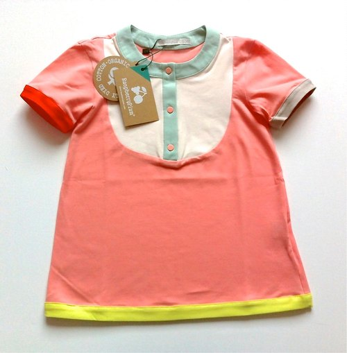 Exclusive Britain RaspberryPlum-Smarty small baby dress (organic cotton)