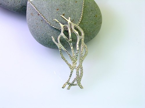 """Tree of Life"" sterling silver necklaces"