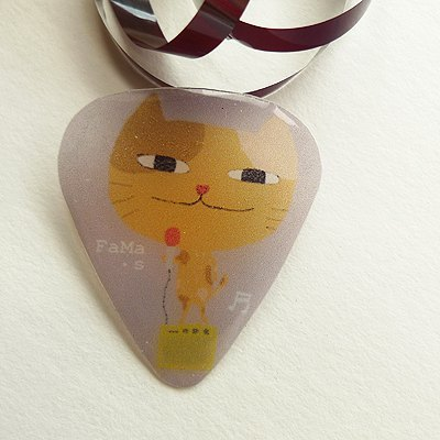 FaMa ‧ s Pick / guitar pick-Cat Band/Lead singer cat