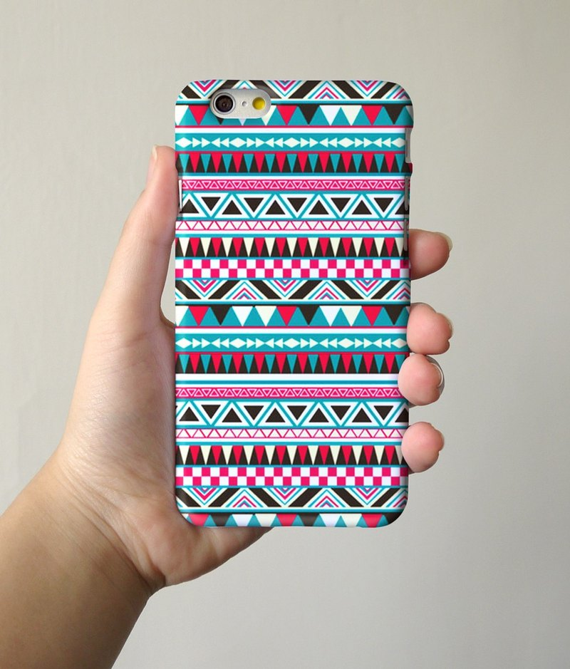 Colour Navajo Tribal Pattern 32 3D Full Wrap Phone Case, available for  iPhone 7, iPhone 7 Plus, iPhone 6s, iPhone 6s Plus, iPhone 5/5s, iPhone 5c, iPhone 4/4s, Samsung Galaxy S7, S7 Edge, S6 Edge Plus, S6, S6 Edge, S5 S4 S3  Samsung Galaxy Note 5, Note 4,