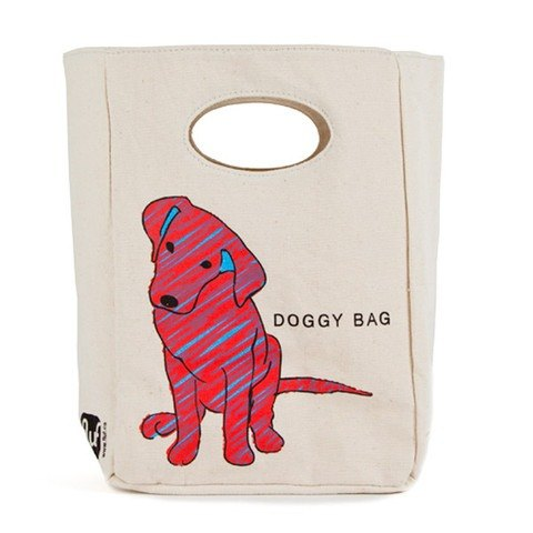 Canadian fluf organic cotton fluf barking puppy hand bag