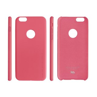 【Rolling Ave.】Ultra Slim iphone 6s plus / 6 plus 手感皮質護套-時尚粉