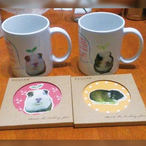 Customized pet mug (I have something to say)