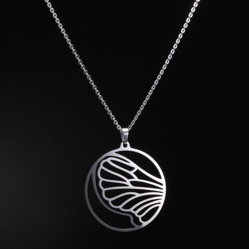 {CHIC CIAO} 316L Stainless Steel Jewelry Necklace - Taiwan native Series [ Taiwan butterfly