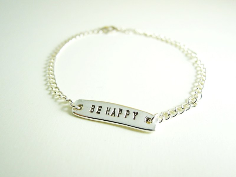 An exclusive gift custom sterling silver bracelet / silver necklace / clavicle chain / Day / Valentine's Day