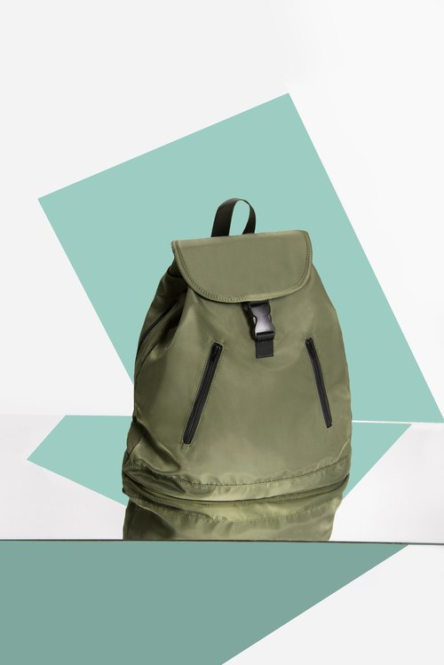 #impeterpeter Backpack in Green