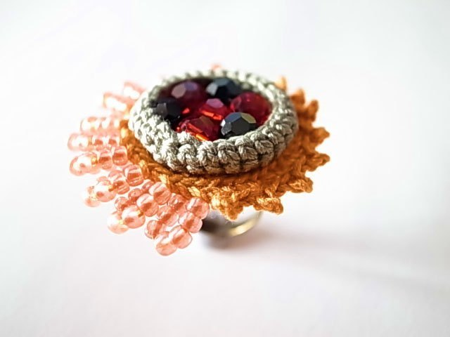 Crochet Jewelry (Style 4) Ring