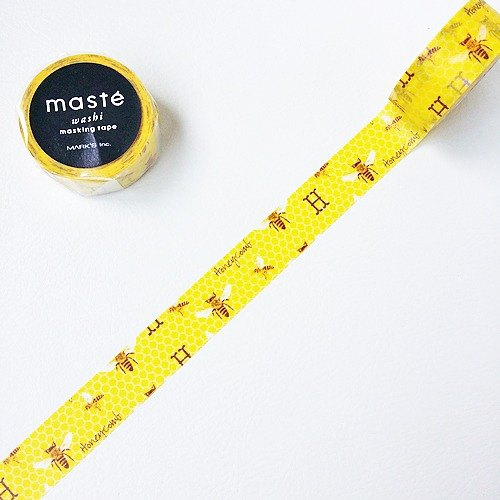 maste and paper tape Multi. Nature [Honeycomb (MST-MKT63-A)]