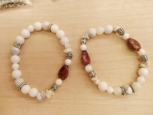- Dear Sincerity - Rose Stone natural stone bracelet