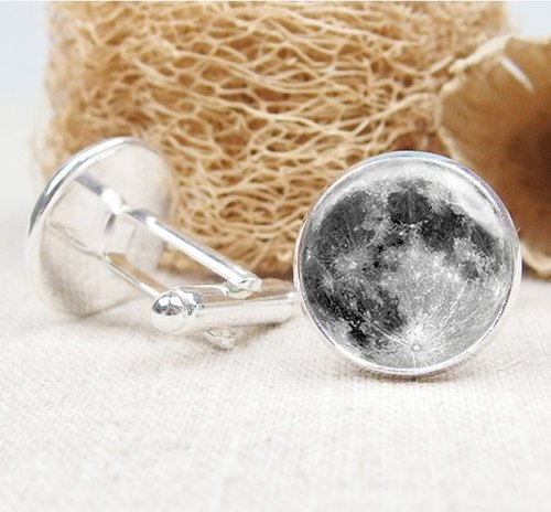 Moon - shirt cufflinks fashion accessories ︱ ︱ boys gifts