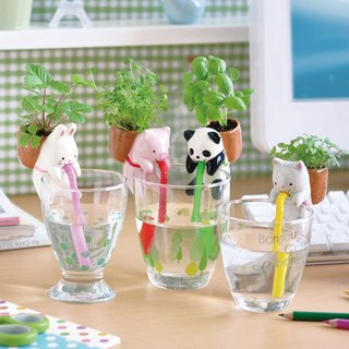 Chuppon Japanese Cup Edge Animal Potted Plant / Farm Forest Edition (four models)