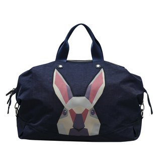 Khieng Atelier Diamond Rabbit Rabbit diamond casual big bag - Blue Fashion