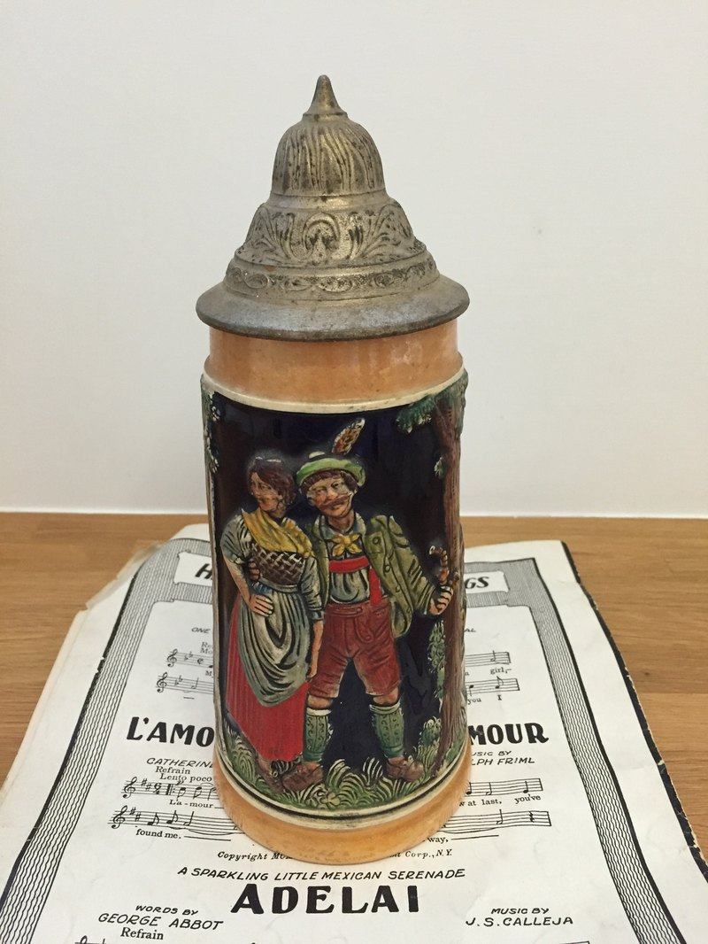 Antique German beer mug Picks de Bea York Antiques