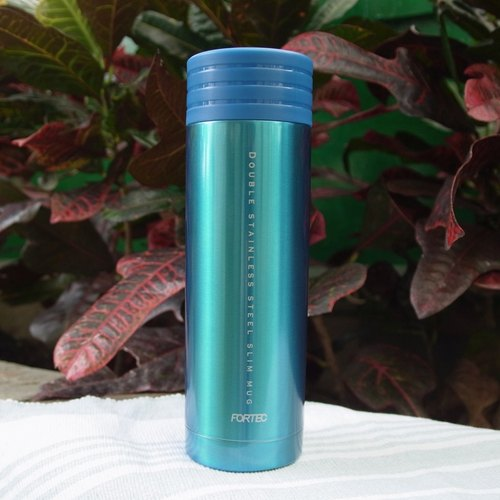 Handy Bottle readily vacuum thermos 300ml- blue (Japan Design)