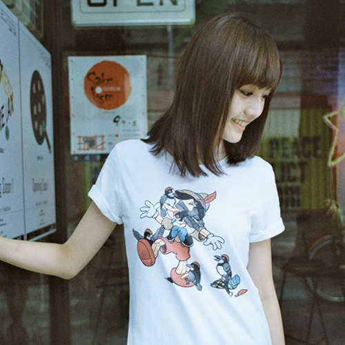Pinocchio - White - Women's T-Shirt