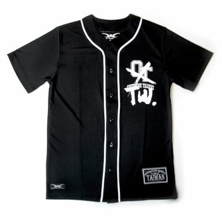 [SH In Taiwan]Team Taiwan Series_ Taiwan Team Non-Chinese Team Moisture Sweat Sports Baseball Clothing _Black