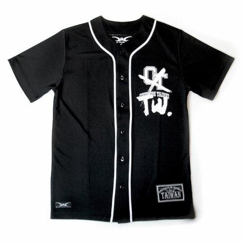 [SH In Taiwan] Team Taiwan _ Taiwan Series team Africa and China Kinesiology baseball team wicking clothes _ black models
