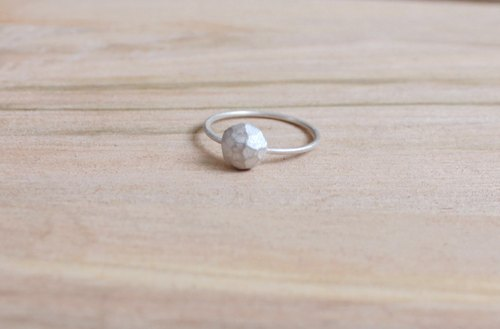 [ODY] HandMade × ANOTHER SPACE RING × simple design silver rings handmade