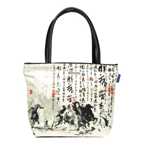 COPLAY tote bag II-running horses