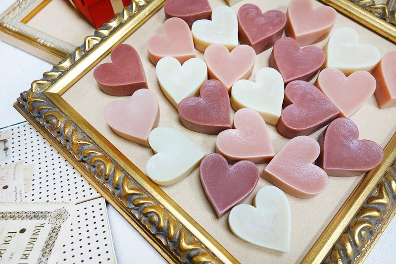 Mini Soap │ heart soap │ MOQ 10 │ wedding small things, corporate gifts, send guests ceremony, the second approach, explore room ceremony, travel soap