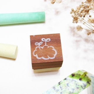 [Stock goods] handmade rubber stamp - Living stamp (M)