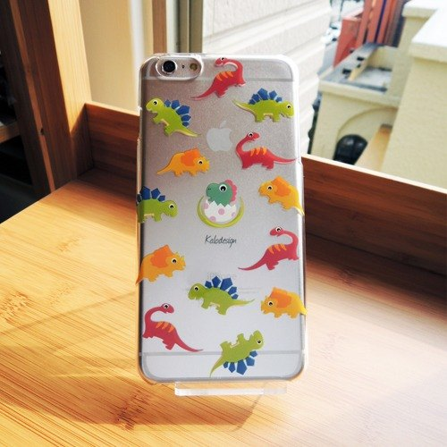 Small dinosaur protective shell iPhone 6 Plus / 6S + phone shell mobile phone sets