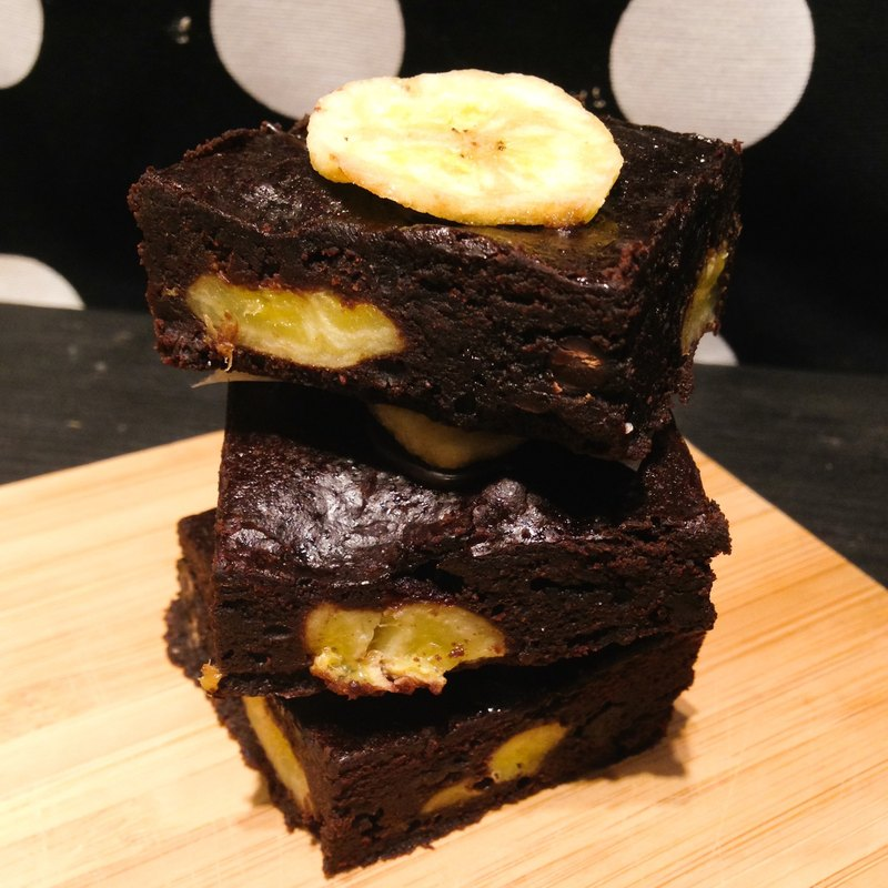 [Mr. Black Bear Chocolate Brownie] Island banana