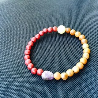 "Suddenly ""bracelet series"" Taxus + Rose Rosewood - soft"