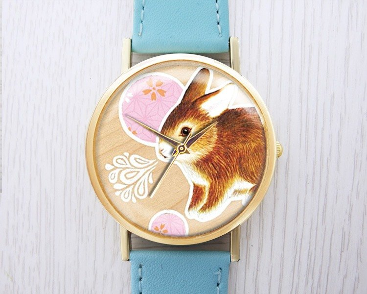 Playful Bunny - Women's Watch / Men's Watch / Neutral Table / Accessories [Special U Design]