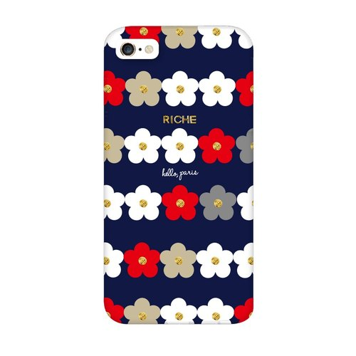 Classic cute little round flower phone shell