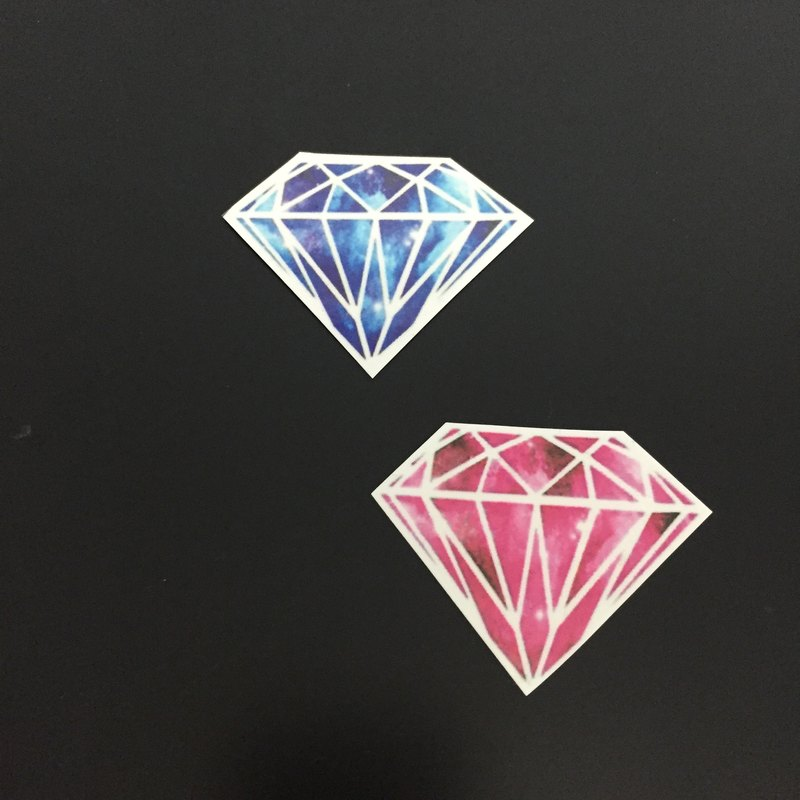 鑽石 紋身貼紙 (Diamond Tattoo Sticker)