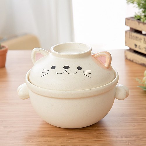 sunart cat pottery pot │ S │