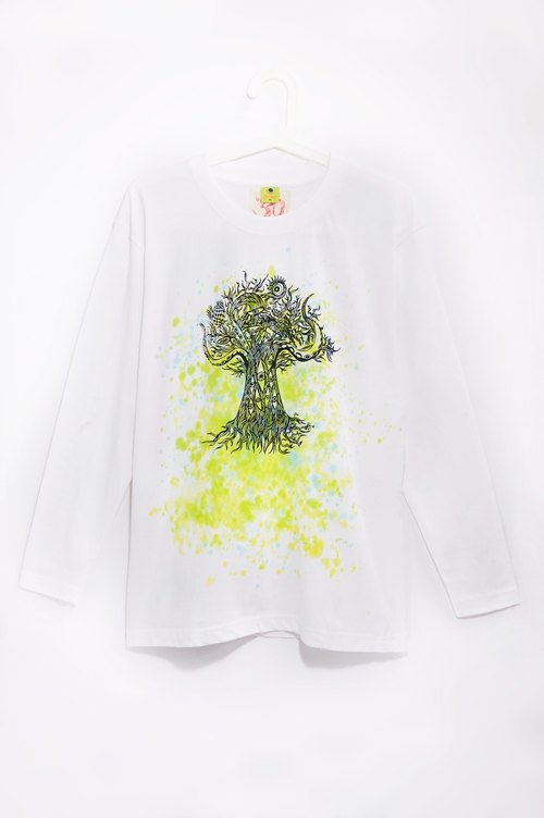 Long-sleeved shirt male version feel / Travel T - Thailand crazy tree (M)