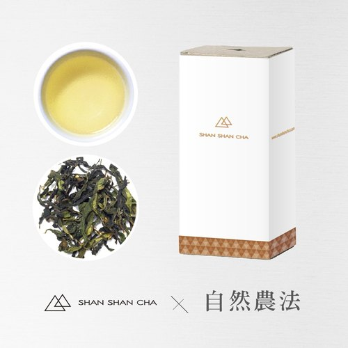 [Mountains came to tea] natural farming method Alishan hand made oolong tea tea supplement package (75g/box)