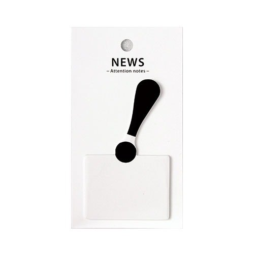 Japan 【LABCLIP】 Attention notes Note-NEW / FNAT01-NW