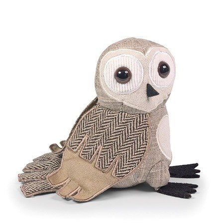 SUSS-UK imported high quality design owl puppet modeling town (barn owl) - spot free / suitable birthday gift