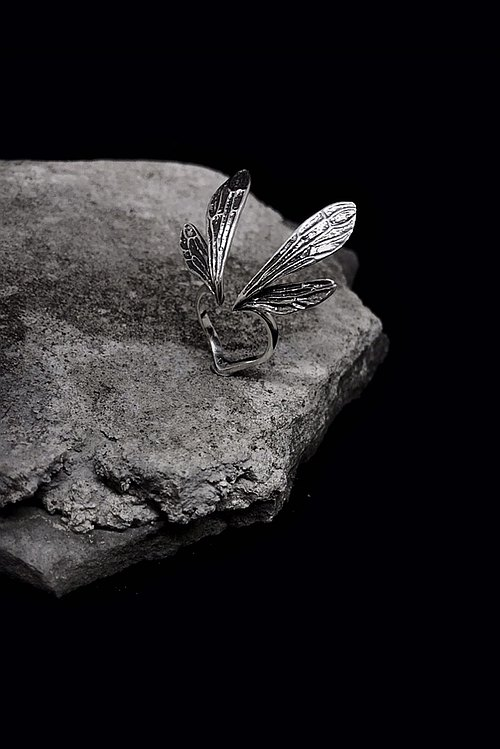 {- Fairy wings - } 925 silver