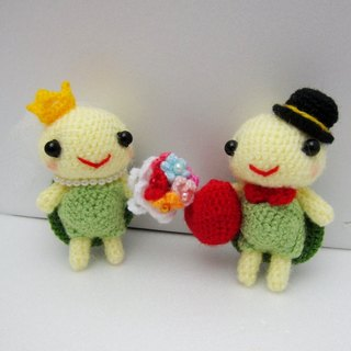 Cute birds turtle. Wedding Doll (customized part of your wedding dolls)