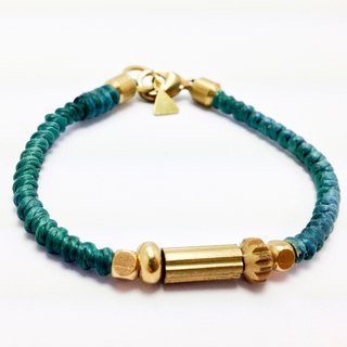 Green Dream Jazz (plus money). Simple Series ◆ Sugar Nok ◆ Wax Brass bracelet