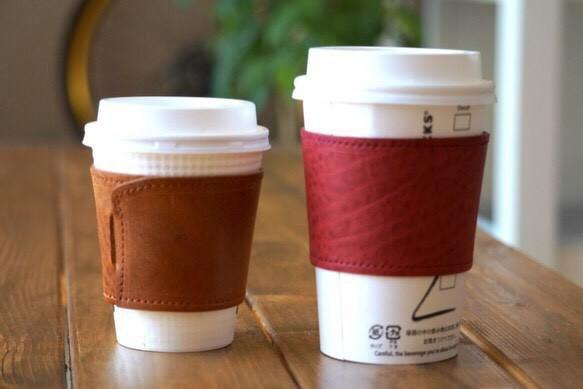 Coffee sleeve (with initials engraved)