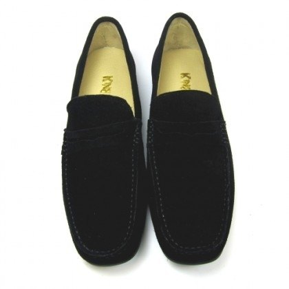 Fort Tony Wang handmade leather shoes (M) [frosted cow / soled / black]