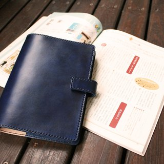 LION's Handmade Leather -- Notebook Holster (A5 )