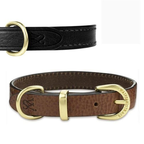 Wes [W & amp; S] Classic collar - Size M- brown, black