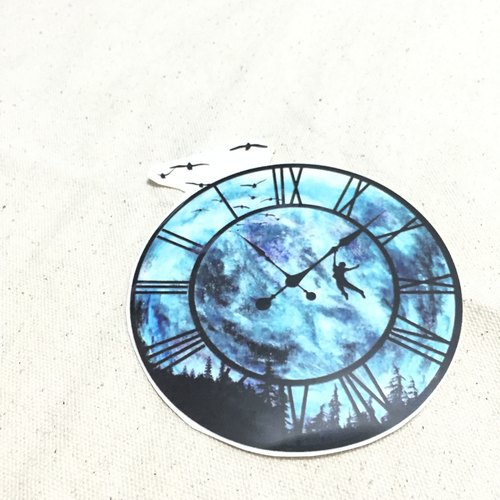 Time Traveler tattoo stickers (Wanderer Tattoo Sticker) (Small)