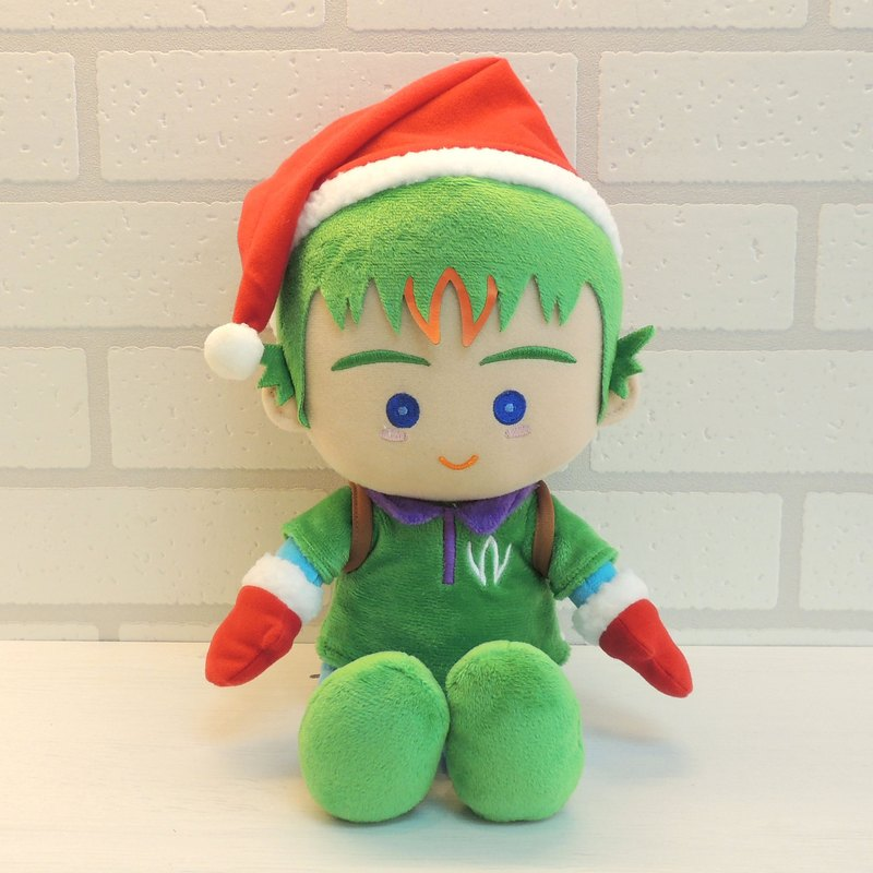 聖誕精靈大允絨毛公仔玩偶 winbrothers B-win stuffed doll (Max's)