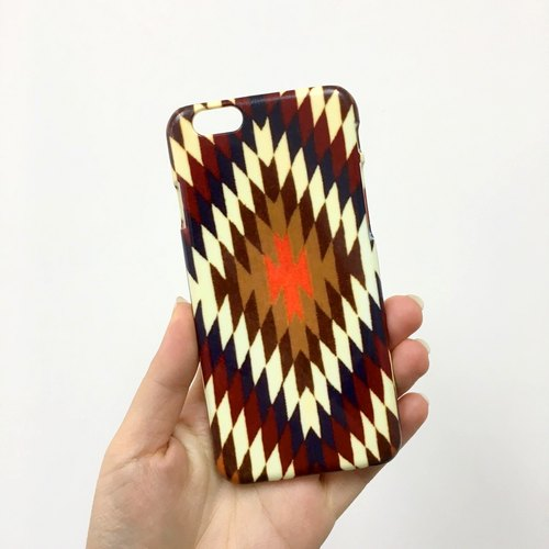Navajo pattern brown tribal 55 3D Full Wrap Phone Case, available for  iPhone 7, iPhone 7 Plus, iPhone 6s, iPhone 6s Plus, iPhone 5/5s, iPhone 5c, iPhone 4/4s, Samsung Galaxy S7, S7 Edge, S6 Edge Plus, S6, S6 Edge, S5 S4 S3  Samsung Galaxy Note 5, Note 4,