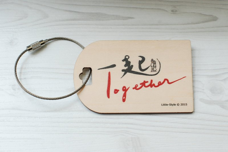[Luggage tag] together
