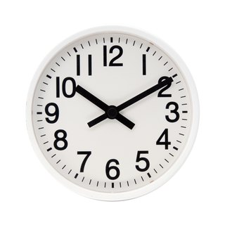 Mesa - yellow wall clock 2 in 1 (metal)