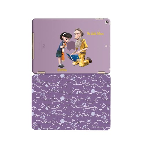 "Little Prince Movie Version authorized Series - [Letters] Grandpa ""iPad Mini"" Crystal Case + Smart Cover (magnetic pole)"