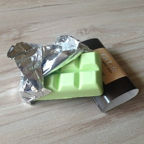 Travel chocolate lemon soap ─